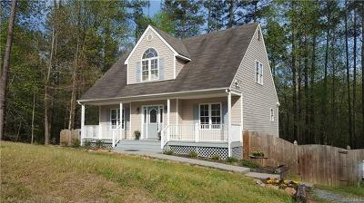 King William County Single Family Home For Sale: 178 Courtney Lane