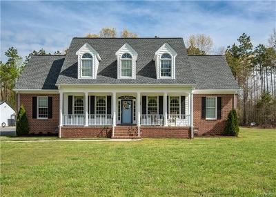 Aylett Single Family Home For Sale: 3503 Smokey Road
