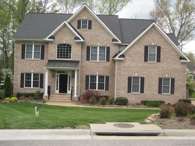 Chesterfield Single Family Home For Sale: 4708 Summer Lake Court