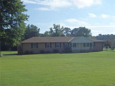 Prince George VA Single Family Home Pending: $239,900