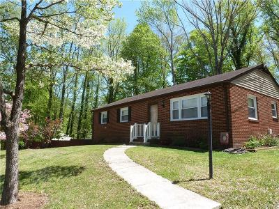 Henrico Single Family Home For Sale: 1793 Hungary Road