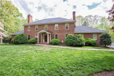 Chesterfield County Single Family Home For Sale: 2430 Braemar Court