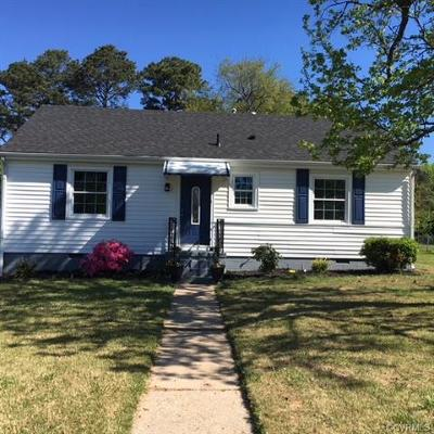 Richmond Single Family Home For Sale: 2318 Golden Road