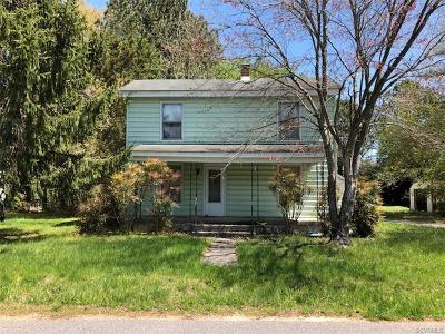Dinwiddie County Single Family Home For Sale: 20817 Westover Drive