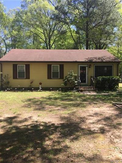 Richmond Single Family Home For Sale: 701 Deter Road