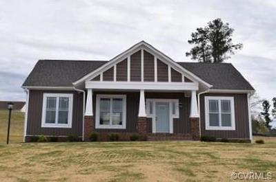 Farmville Single Family Home For Sale: 110 Jays Road