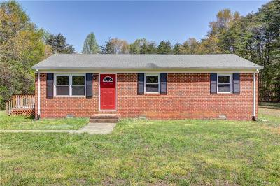 Goochland Single Family Home For Sale: 3740 Robinson Road