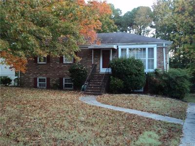 Petersburg Single Family Home For Sale: 2235 Anderson Street