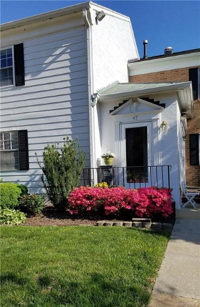 Henrico Condo/Townhouse For Sale: 47 Waterfall Road #47