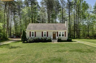 Powhatan Single Family Home For Sale: 6681 Clark Road