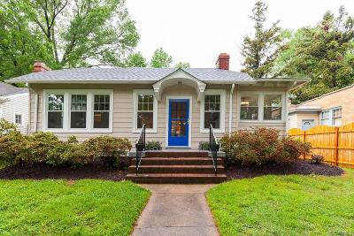 Richmond Single Family Home For Sale: 4024 Mount Vernon Street