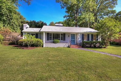 Henrico Single Family Home For Sale: 8011 Dunsmore Road