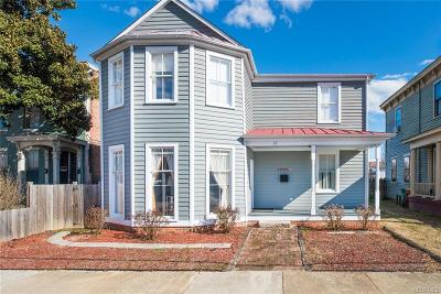Petersburg Single Family Home For Sale: 131 South Market Street