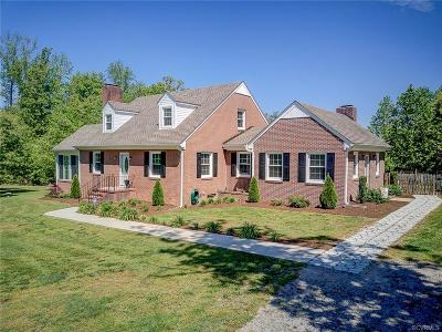 Dinwiddie Single Family Home For Sale: 17920 Nash Road