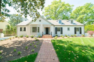 Richmond Single Family Home For Sale: 4105 Cary Street Road