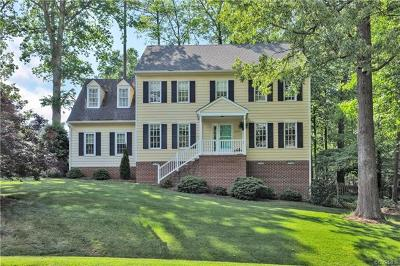Chesterfield VA Single Family Home For Sale: $345,000