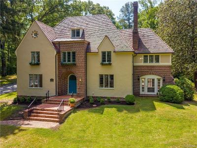 Richmond Single Family Home For Sale: 8535 Riverside Drive