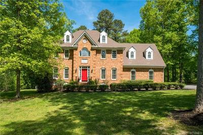 Chesterfield VA Single Family Home For Sale: $489,000
