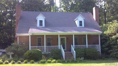 Dinwiddie Single Family Home For Sale: 11201 Fleet Road