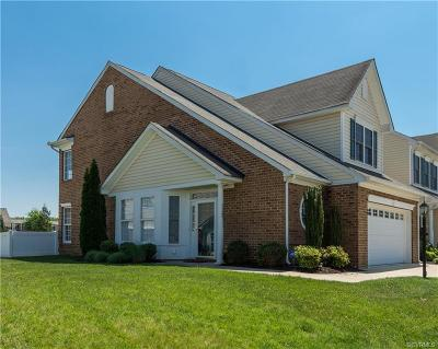 Mechanicsville VA Condo/Townhouse For Sale: $269,500