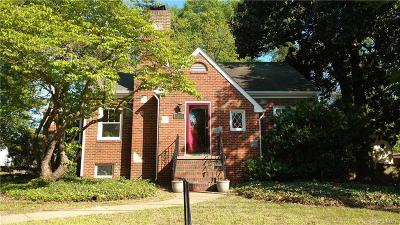 Hopewell VA Single Family Home Sold: $162,500