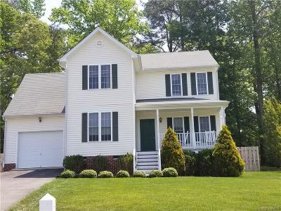 Chesterfield VA Single Family Home For Sale: $234,500