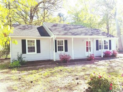 South Chesterfield VA Single Family Home For Sale: $159,950