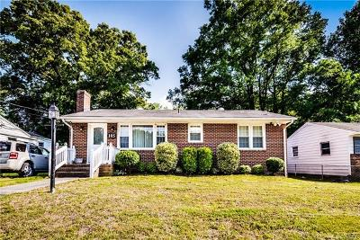 Colonial Heights Single Family Home For Sale: 105 Boykins Avenue