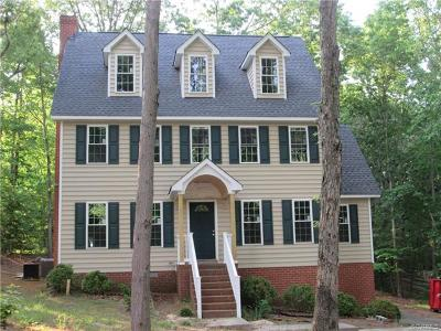 Chester Single Family Home For Sale: 13913 Howlett Line Drive