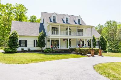Hanover County Single Family Home For Sale: 17501 Old Ridge Road