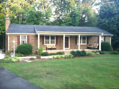 Chesterfield VA Single Family Home For Sale: $249,999