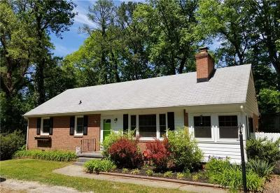 Richmond VA Single Family Home Sold: $197,000