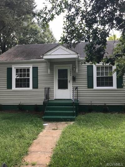 Richmond Single Family Home For Sale: 1609 South East Claiborne Street