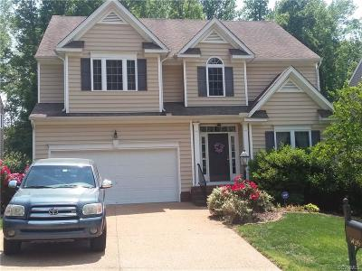 Chesterfield County Rental For Rent: 14219 Jeffries Place
