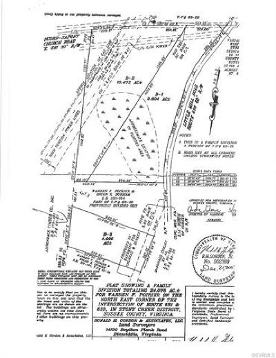Sussex County Land For Sale: B-3 Little Mill Road