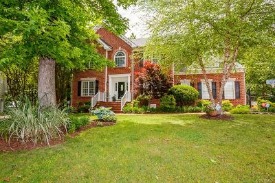 Hanover Single Family Home For Sale: 8078 Lake Haven Drive