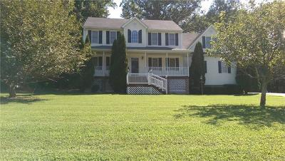 Prince George VA Single Family Home For Sale: $249,950