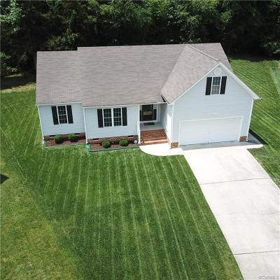 Chesterfield VA Single Family Home For Sale: $215,000