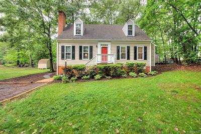 Chesterfield VA Single Family Home For Sale: $198,900