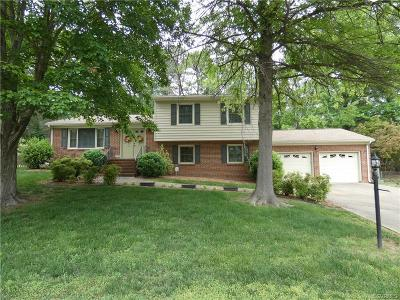 Colonial Heights VA Single Family Home For Sale: $209,000