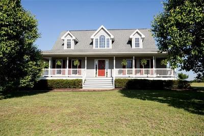 Blackstone VA Single Family Home For Sale: $499,900