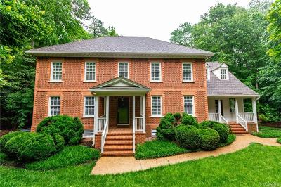Chesterfield County Single Family Home For Sale: 3521 Buckhead Road