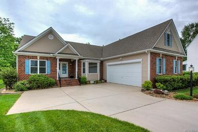 Chesterfield VA Single Family Home For Sale: $368,000