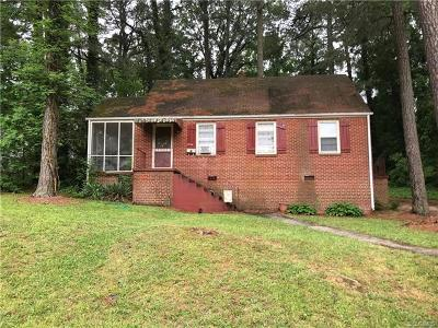 Petersburg Single Family Home For Sale: 1584 Mount Vernon Street