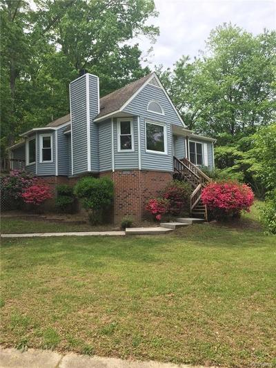 Chester Single Family Home For Sale: 2701 Mistwood Forest Drive