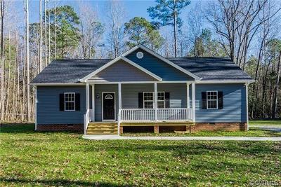 New Kent Single Family Home For Sale: 9051 Rock Cedar Road
