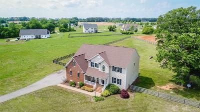 Amelia County Single Family Home For Sale: 11540 Smokehouse Drive