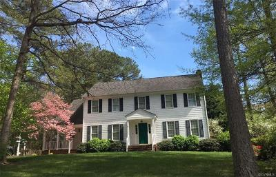 Henrico Single Family Home For Sale: 12707 Glenkirk Road