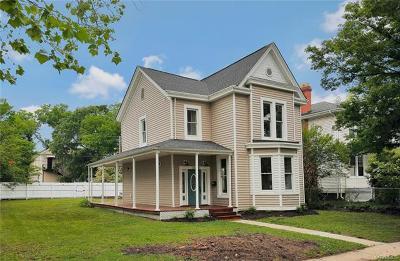 Richmond Single Family Home For Sale: 3008 Barton Avenue