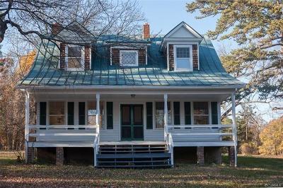 Hanover County Single Family Home For Sale: 17328 Beaver Dam Road